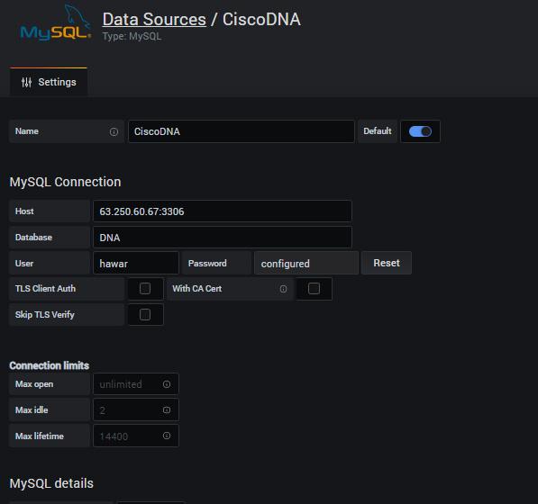 DNA-MySQL